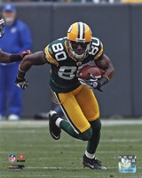 Donald Driver 2011 Action Fine Art Print