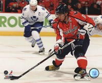 Alex Ovechkin 2011-12 Action Fine Art Print