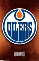Oilers® - Logo 11 Wall Poster