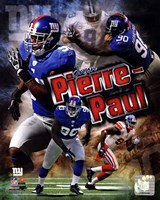 Jason Pierre-Paul 2011 Portrait Plus Fine Art Print