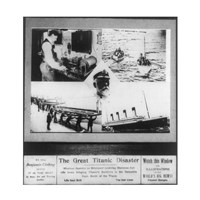 The Great Titanic Disaster Fine Art Print