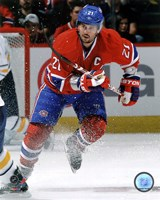 Brian Gionta 2011-12 Action Fine Art Print