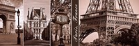 A Glimpse of Paris Fine Art Print