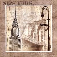 New York Serenade Framed Print