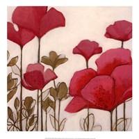 Ladybug Flowers I Fine Art Print