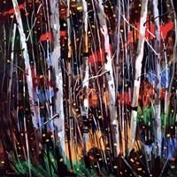 Autumn Fireworks Fine Art Print