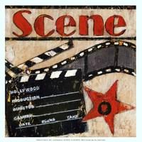 Scene - mini Framed Print