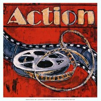 Action - mini Fine Art Print