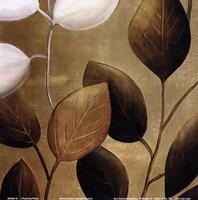Gold Eco-Chic I Fine Art Print