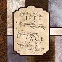 Count Your Life Fine Art Print