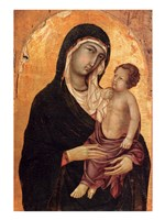 Virgin and Child portrait Fine Art Print