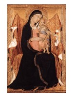 Virgin and Child Fine Art Print
