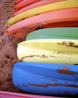 Kayaks II Fine Art Print
