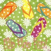 Flip Flop Fun Fine Art Print