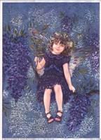 Wisteria Fairy Fine Art Print