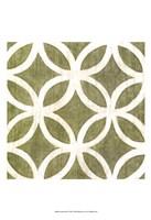 Garden Tile IV Fine Art Print