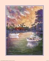 Three Sailboats Fine Art Print