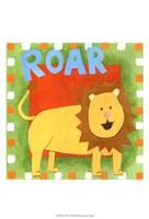 Roar Framed Print