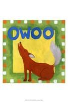 Owoo Framed Print
