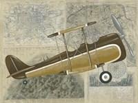 Tour by Plane II Fine Art Print