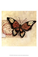 Le Papillon III Fine Art Print