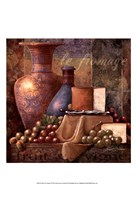 Cheese & Grapes I Fine Art Print