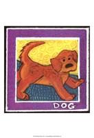 Whimsical Dog Fine Art Print