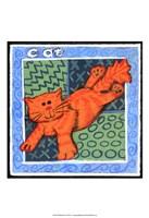 Whimsical Cat Fine Art Print