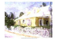 Street Cottage I Fine Art Print