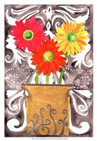 3 Tin Flowers Fine Art Print
