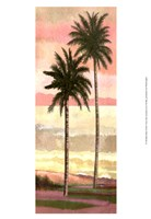Blush Palms I Fine Art Print