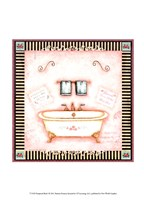 Pampered Bath I Fine Art Print