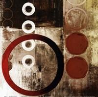 Red Liberate square I Fine Art Print