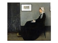 Whistler's Mother Fine Art Print
