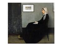 Whistler's Mother Fine Art Print