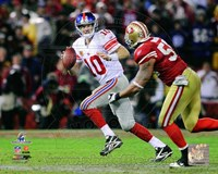 Eli Manning NFC Championship Game Action Fine Art Print
