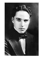 Charlie Chaplin - B&W Framed Print