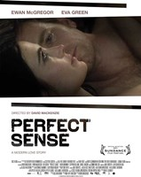 Perfect Sense couple laying Framed Print