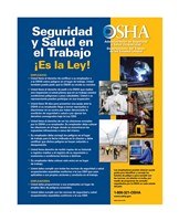 OSHA Job Safety and Health Spanish Version 2012 Fine Art Print