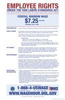Minimum Wage 2012 Framed Print