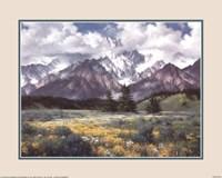 Rocky Mountain Peaks Fine Art Print