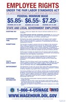 State & Local Government Minimum Wage 2012 Framed Print