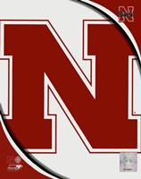 University of Nebraska Cornhuskers Team Logo Fine Art Print