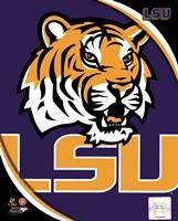 Louisiana State University Tigers Team Logo Fine Art Print