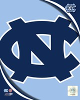 University of North Carolina Tar Heels Team Logo Fine Art Print