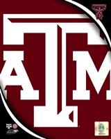 Texas A&M University Aggies Team Logo Fine Art Print