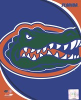 University of Florida Gators Team Logo Fine Art Print