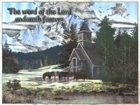 Word of the Lord Fine Art Print