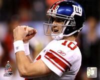Eli Manning Super Bowl XLVI Fine Art Print