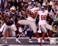 Victor Cruz Touchdown Catch Super Bowl XLVI Fine Art Print